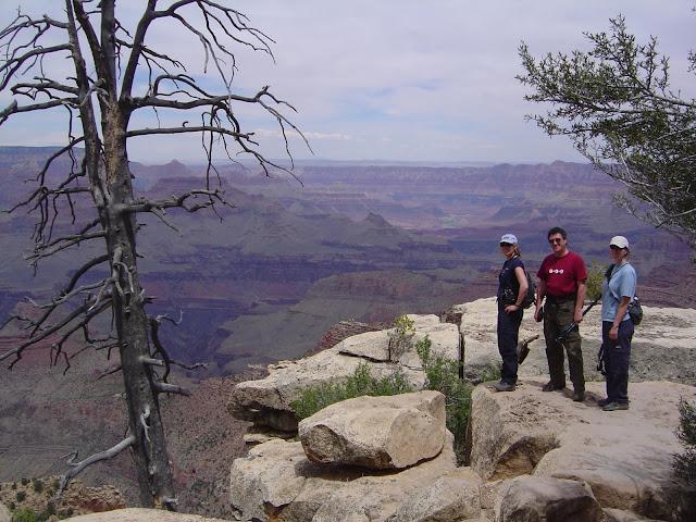 Et nous voil  au Gand Canyon dans la m me journ e!