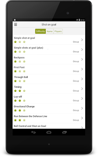 Soccer-Training - screenshot