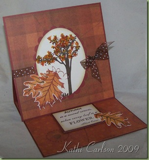 Easel Card_Oct 2009