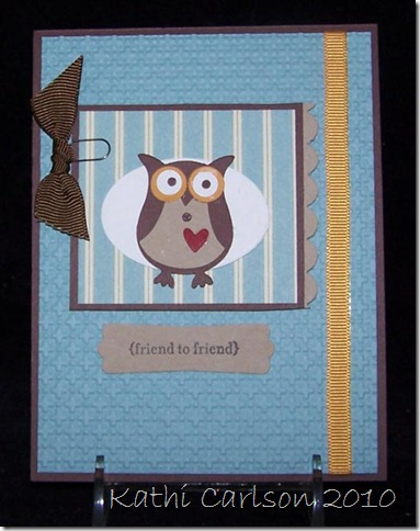 Stampin' Up Owl Punch_September 2010