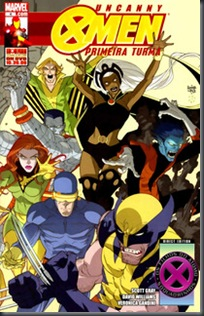 Fabulosos X-Men - Primeira Turma #04 (2009)