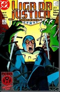 Liga da Justiça Internacional #25 (1989)