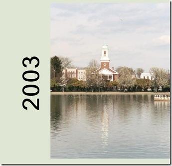 2003 photo album