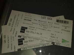 entradas Lady Gaga