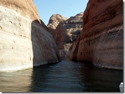 Canyon in Lake Powell