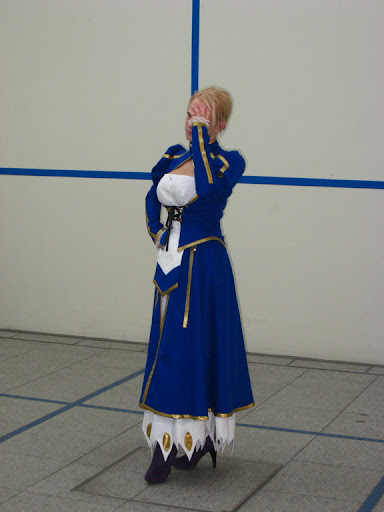 Fate stay night Saber Foto Cosplay