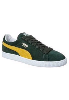 puma suede verte et jaune. Black Bedroom Furniture Sets. Home Design Ideas