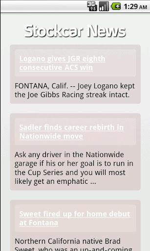 Stockcar News