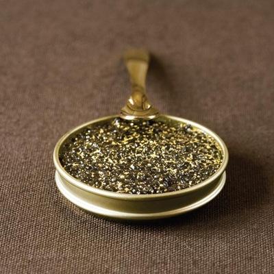 Caviar ouro comestível 01
