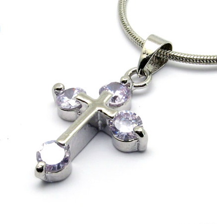 czech-crystal-cross-pendant-necklaces