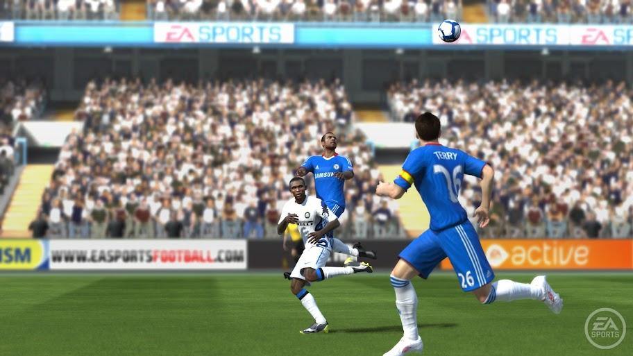 FIFA 11 - Chelsea x Inter Milan