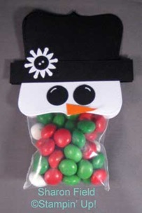Snowman Treat Bag Tutorial