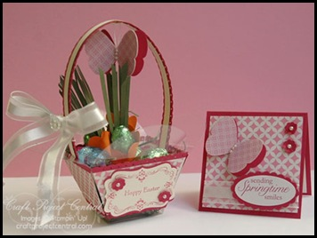 Petal Cone Easter Basket(3)