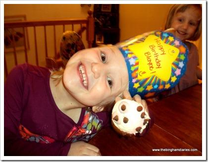 silly birthday girl
