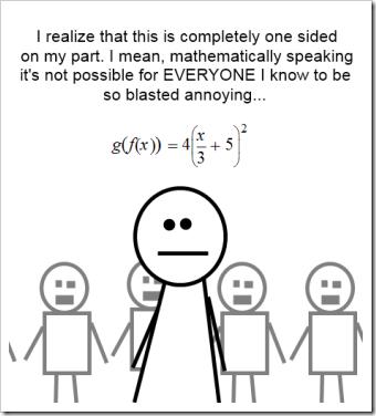 mathematically speaking