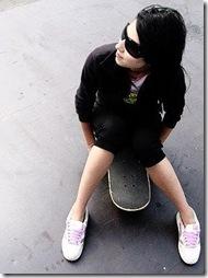 Fotos fake de garotas skatistas