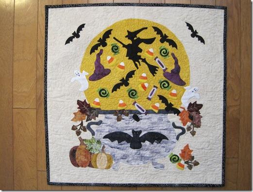 Halloween Quilt Margie