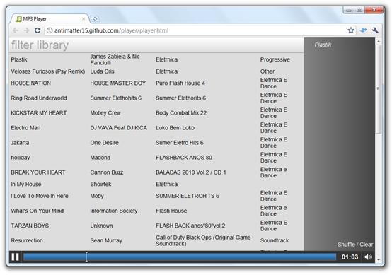 player em HTML5