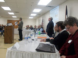 A 12 member panel of zoning proponents, opponents and experts was assembled for the meeting (KCII News)