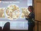 Heather Greiner Explains the Read 180 Program to School Board members (KCII News)