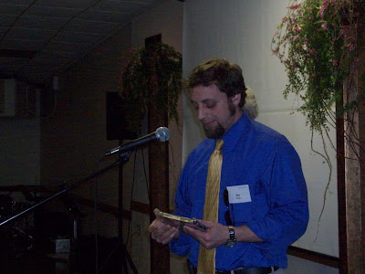 KCII GM Joe Nichols Accepting the Award (KCII NEWS)