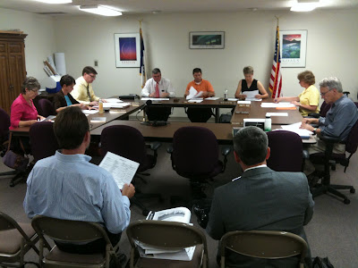 The Washington School Board Approved Bids For The Second Phase Of Construction For The District's New High School.<br />