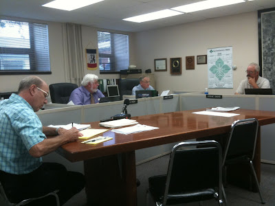 Last Tuesday's Meeting Of The Washington County Board Of Supervisors.<br />