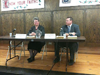 County Attorney Candidates Bard Edmondson (D) And Larry Brock (R).<br />