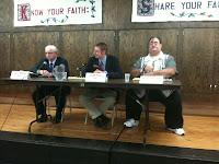 Iowa House District 89 Candidates Larry Marek (D), Jarad Klein (R) And David Smithers (G).<br /> (KCII's Chance Dorland)