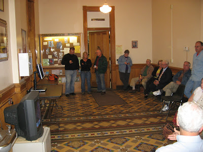 Election Night Coverage at Washington County Court House (KCII-Steve Dahl)