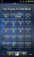 Screenshot of Calculator Widget