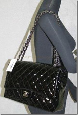 mychanelbags  2010 Chanel Patent Maxi Flap Bag 35f4528911