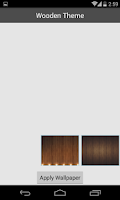 Screenshot of Wood Theme