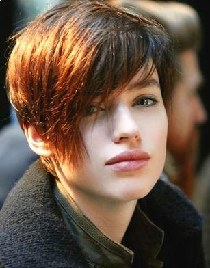 long shaggy hairstyles for women. any age. Asymmetrical Shag