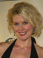Mackenzie Westmore with short curly hair