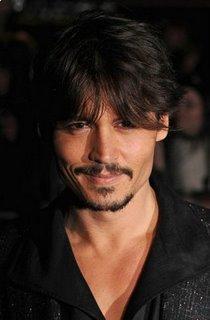 Johnny Depp Long Layered Haircuts