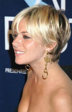 Celebrity Hairstyles Sienna Miller