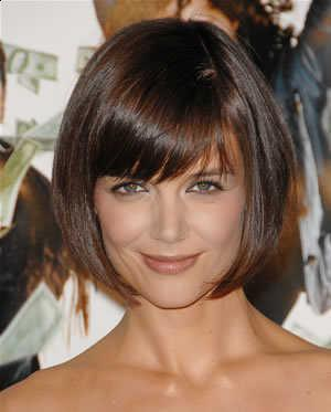 New perfect Hairstyles Katie Holmes