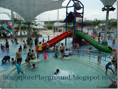 Sengkang Swimming Complex Anchorvale Singapore Playground