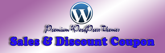 Sales and discount coupon codes page