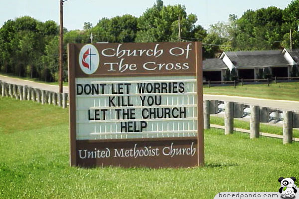 Funniest Signs Around The World Bored Panda - 32 hilarious church signs that will make you laugh way more than you should 12 is the best ever