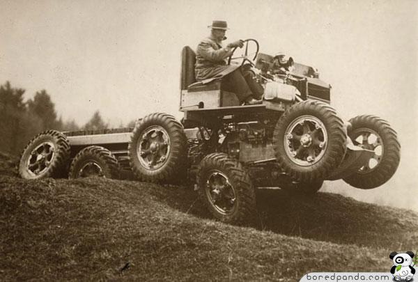 cool inventions all terrain car 10 invenções do passado que não deram certo