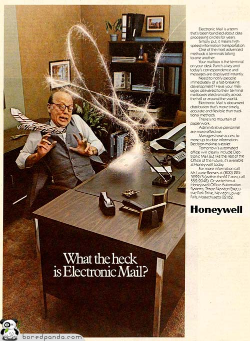 23 Years of e-mail