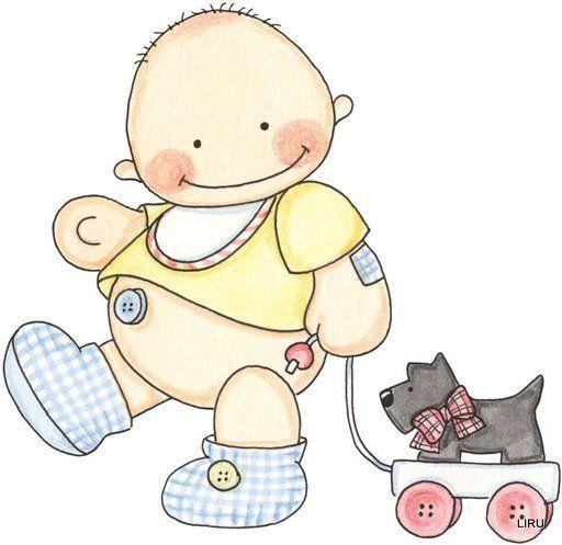 Dibujos de bebes - Dibujos pared bebe ...