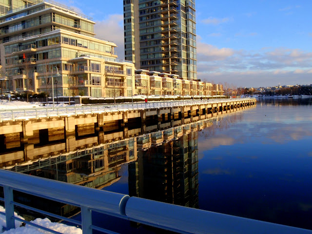 False Creek, Vancouver Christmas Day