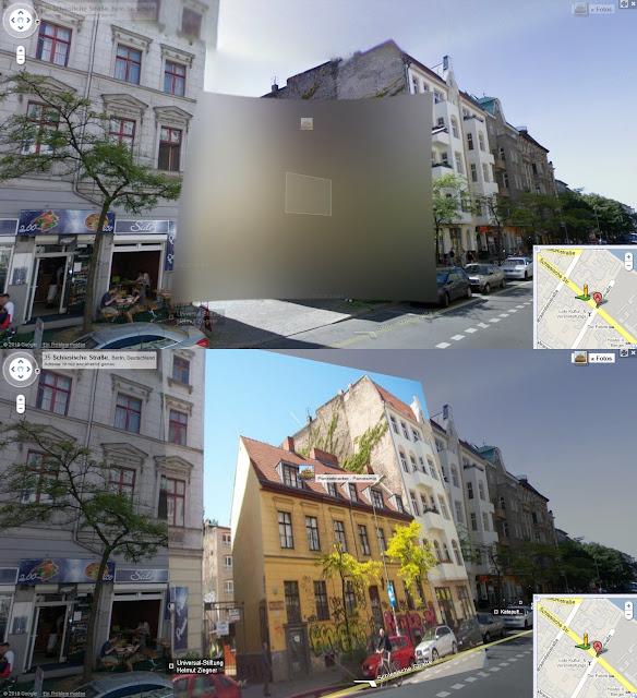 Street View Verpixelung durch Panoramio Umgehen