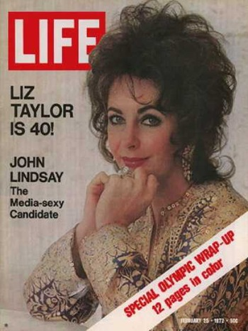 elizabeth taylor life cover 1972