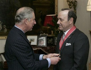 kevin spacey cbe