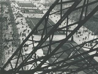 Champs de Mars Vue de la Tour Eiffel,1951