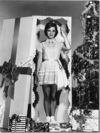 Debbie Reynolds wishes you a Merry Christmas